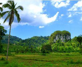Limestone mountain Palawan