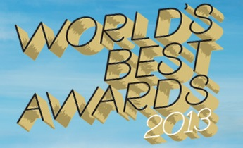 Travel + Leisure - Worlds best 2013
